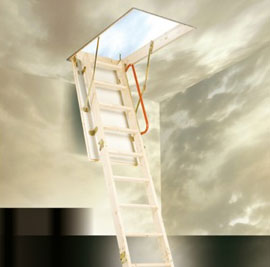 eco timer attic ladder